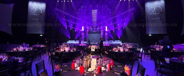 Quay phim Gala Dinner www.saigonphim.vn www.saigonphim.com.vn