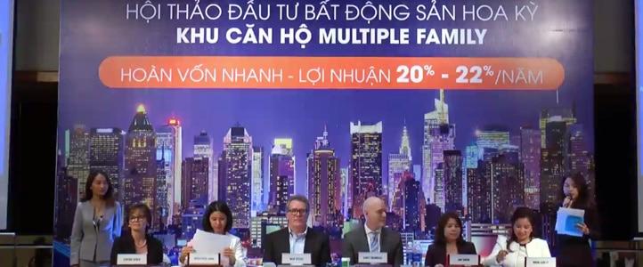 Live Stream hoi thao gioi thieu du an dau tu Multiple Family US HOME www.saigonphim.vn www.saigonphim.com.vn