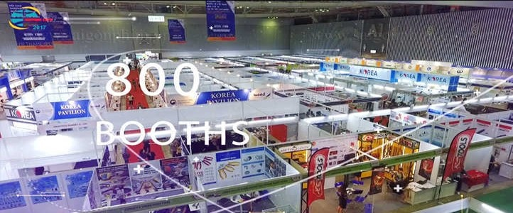 Quay phim triển lãm Vietnam Expo 2017