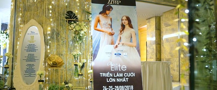Quay phim triển lãm cưới HWP 2018 tại Hà Nội