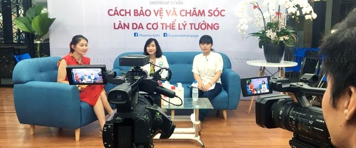 Live Stream len facebook Cách chăm sóc và bảo vệ làn do lý tưởng saigonphim.com.vn