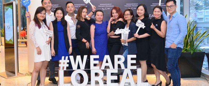 Chụp hình sự kiện: L'Oreal Việt Nam