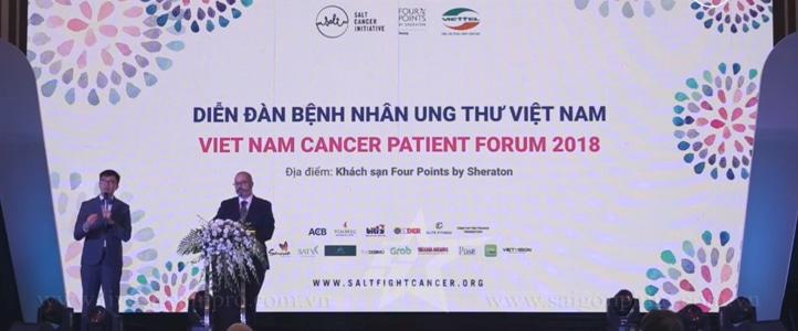 Live Stream Diễn đàn bệnh nhân ung thư 2018 saigonphim.com.vn