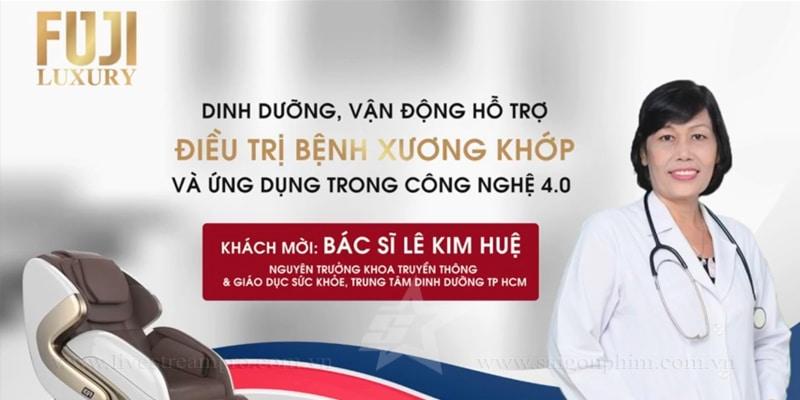 Live Stream Talkshow Ứng dụng công nghệ 4.0 trong điều trị xương khớp www.saigonphim.com.vn www.livestreampro.com.vn