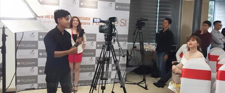 Live Stream sự kiện Lễ chuyển giao công nghệ Laser new skin 360 saigonphim.com.vn
