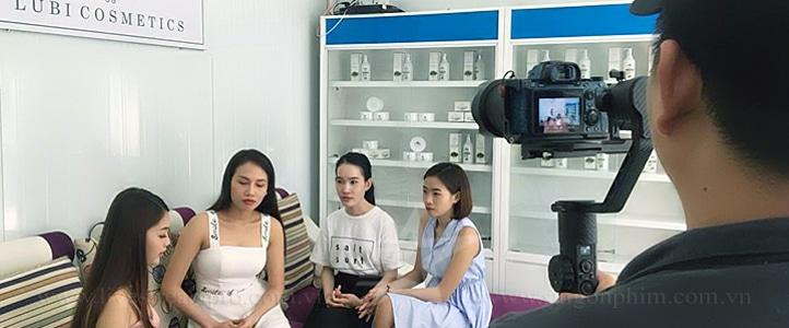 Quay phim quang cao my pham Lubi saigonphim.com.vn
